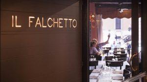 Un menu racconta i 100 anni del Falchetto