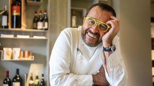Giancarlo Morelli all'Hotel VIU di Milano