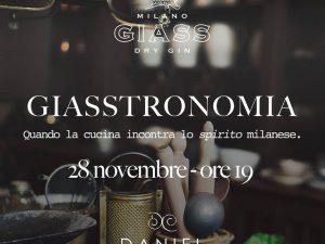 Giasstronomia: a Milano il gin incontra la cucina gourmet