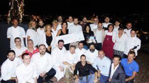 Italian Chef Charity Night: pioggia di stelle per la lotta al femminicidio