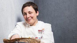Antonia Klugmann a Masterchef (al posto di Cracco)