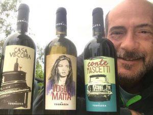 Conte Mascetti, Voglia Matta e Casa Vecchia, le tre nuove etichette La Tognazza