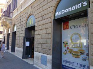 Roma vs McDonald's