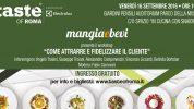 Come attrarre e fidelizzare il cliente: il nostro workshop a Taste of Roma