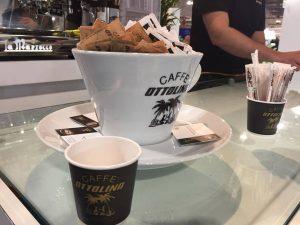 Ottolina Caffè: il nuovo concept store a Palazzo Lombardia