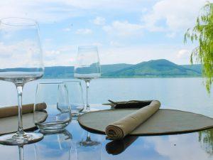 Dove mangiare vista lago nel Lazio