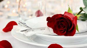 San Valentino a Roma: i menu più romantici in città