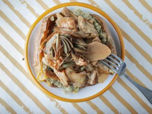 """Ricetta del giorno: le baked potato """"Segugio Toad"""" di Gialle&Co"""