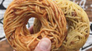Spaghetti donut, quando la pasta è pop