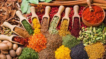 Alimentazione e benessere: le 10 spezie della salute