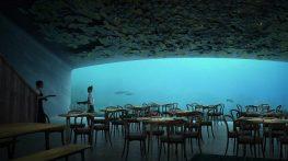 Mangiare sotto il livello del mare? In Norvegia si può