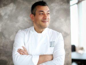 Fabrizio Ferrari. A Milano c'è uno chef nel blu…dipinto di blu!