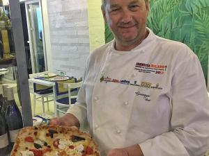 Giuseppe Vesi porta la sua Pizza Gourmet a Milano